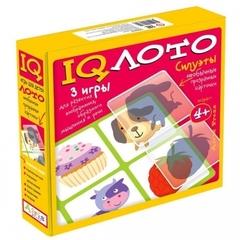 IQ лото Силуэты (комплект из 3 игр), Айрис Пресс