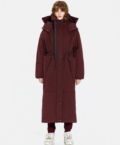 Зимнее пальто Миа bordo
