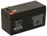 Аккумулятор General Security GS 1,2-12 ( GS12-1.2 ) ( 12V 1,2Ah / 12В 1,2Ач ) - фотография