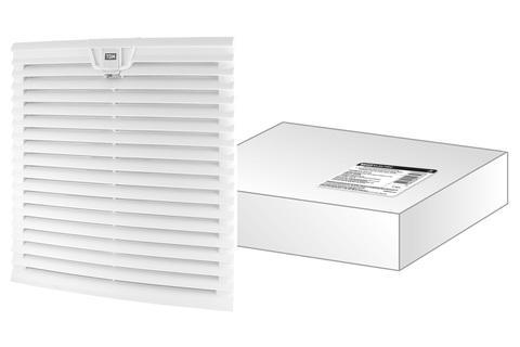 Вентиляционная решетка с фильтром для вентилятора ВФУ SQ0832-0114 (323 мм) TDM