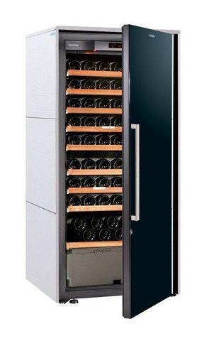 Винный шкаф EuroCave D Collection M белый хлопок, сплошная дверь, максимальная комплектация