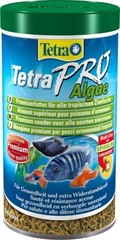 Растительный корм для всех видов рыб, TetraPro Algae Crisps, в чипсах
