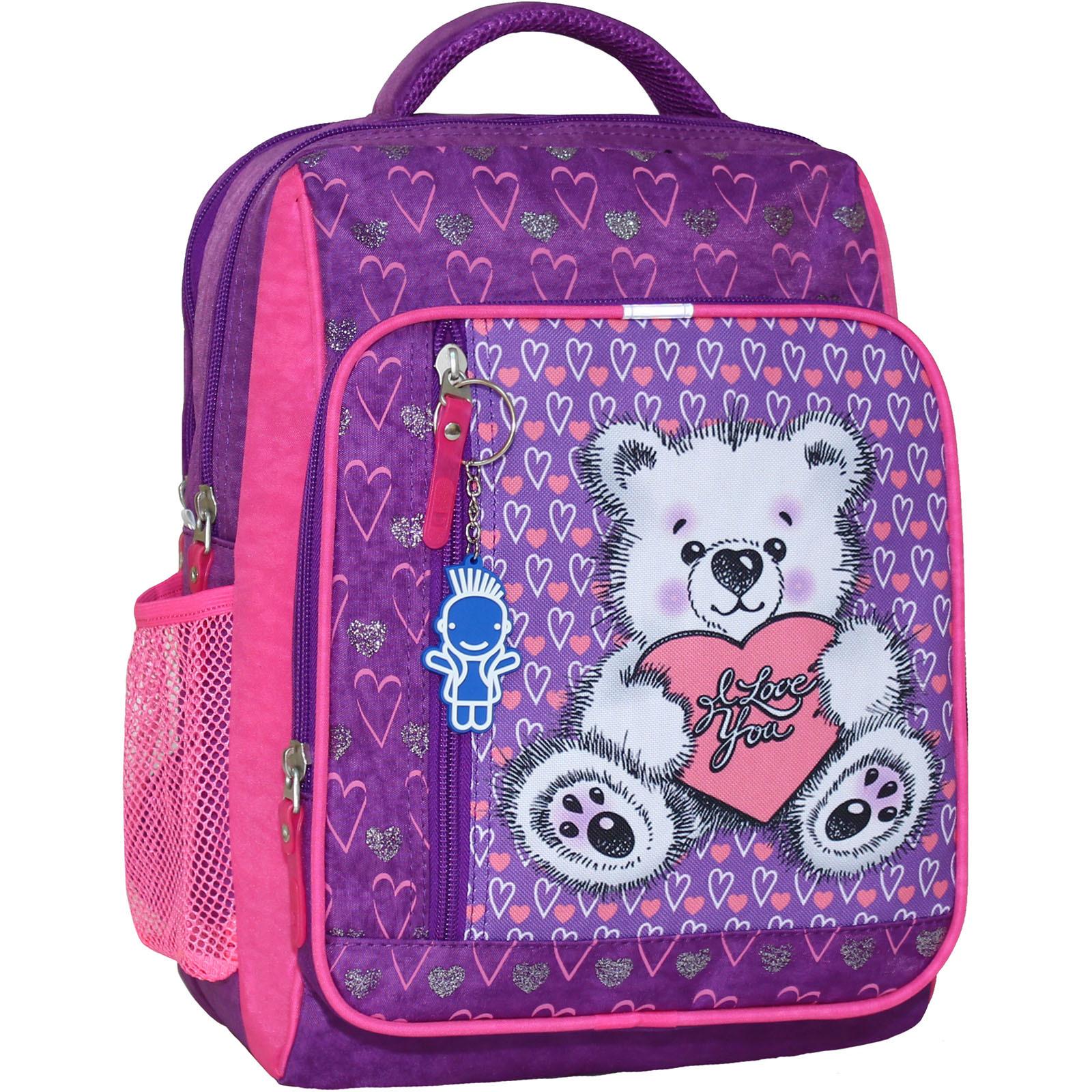 Школьные рюкзаки Рюкзак школьный Bagland Школьник 8 л. 339 фiолетовий 377 (00112702) IMG_6419_377_.JPG