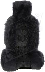 Накидка из натурального меха (Заяц + Овчина, цельная шкура, Австралия)