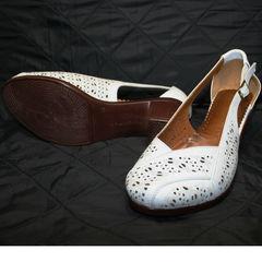 Летние туфли босоножки Marani Magli 031 405 White.