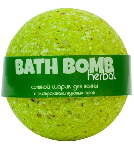 Бурлящий шарик для ванны Луговые Травы | Savonry