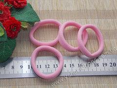 Резинки бесшовные розовые