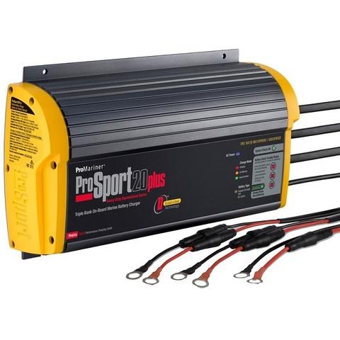 Зарядное устройство ProMariner ProSport 20+PFC, 12/24/36 В, 20 А