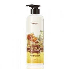 Deoproce Healing Mix & Plus Body Cleancer Honey White Jasmine - Гель для душа мед и жасмин