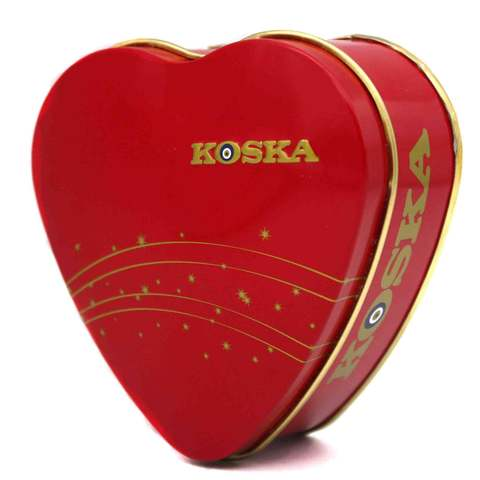 """Рахат-лукум со вкусом розы и лимона в подарочной упаковке """"Сердце"""", Koska, 150 г"""