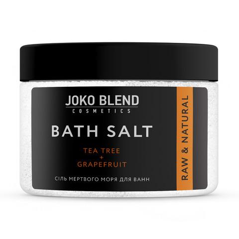 Соль Мертвого моря для ванн Чайное дерево-Грейпфрут Joko Blend 300 гр (1)