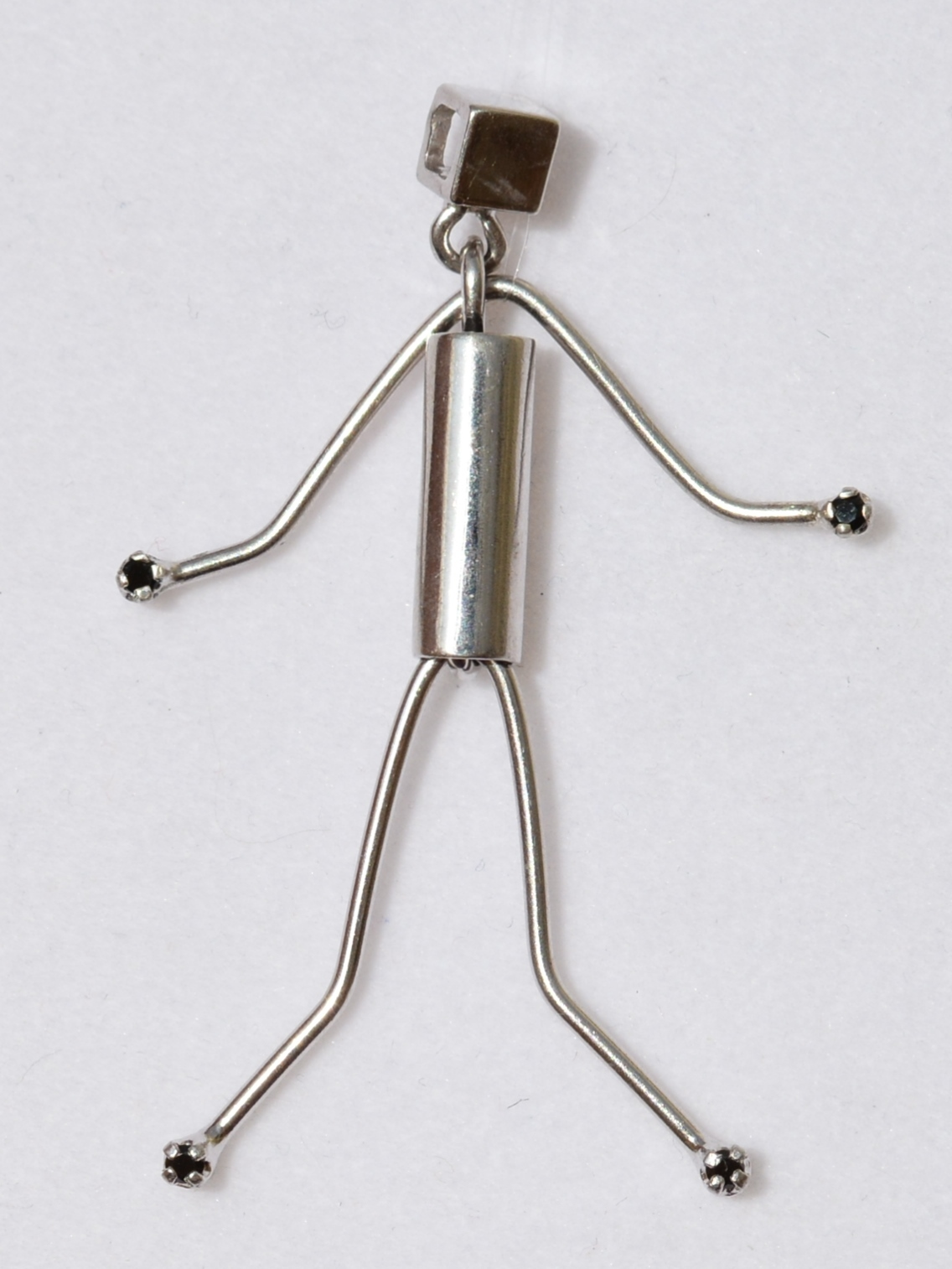Человек (серебряный кулон)