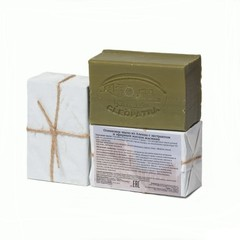 Мыло алеппское оливковое ЖАСМИН, 150g ТМ Клеопатра