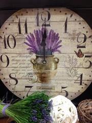 Часы настенные «Букет лаванды» Time Keeper