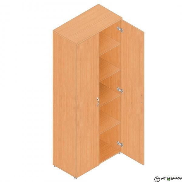 Шкаф для бумаг Р.Ш-3 (венге/дуб), ЛДСП, Альтерна