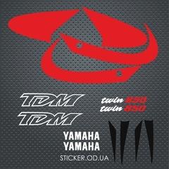 Наклейки на мото YAMAHA TDM 850 '00-2001