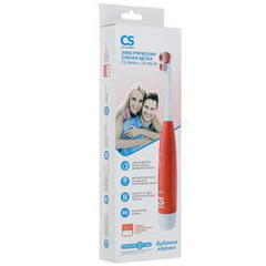 Электрическая зубная щетка CS Medica CS-465 W красная