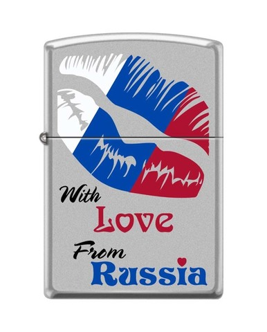 Зажигалка 205 With love from Russia