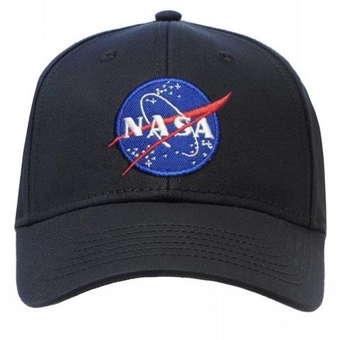 Кепка Alpha Industries Logo Nasa Black (Черная)