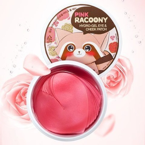 Гидрогелевые патчи SECRET KEY Pink Racoony Hydro-gel Eye & Cheek Patch (60 шт)