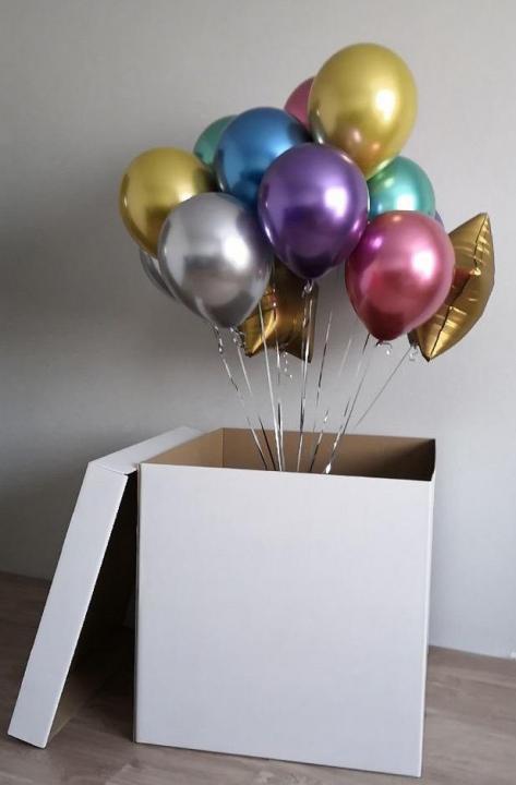 Шары в коробке Коробка с воздушными шарами Хром 3120.jpg