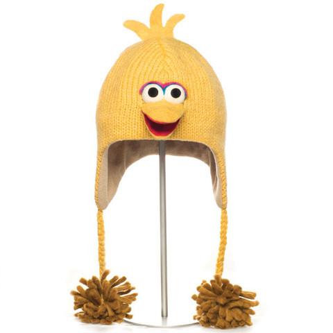Картинка шапка с ушами Knitwits Big Bird