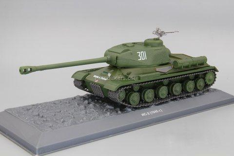 Tank IS-2 1945 1:43 DeAgostini Tanks. Legends Patriotic armored vehicles #11