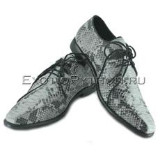 Туфли из кожи питона  SH-122