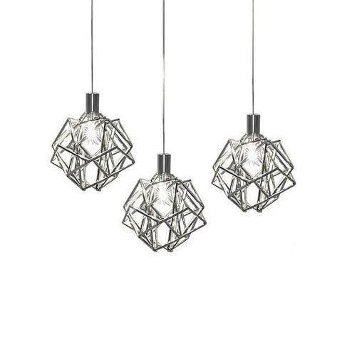 Подвесной светильник копия Etoile by Terzani 3 (серебряный)