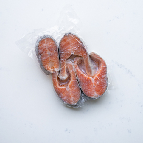 Форель, стейк свежемороженный