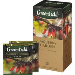 Чай Greenfield Barberry garden черный с барбарисом 25 пакетиков