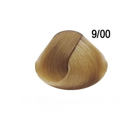 Перманентная крем краска для волос Ollin 9/00 глубокий блондин
