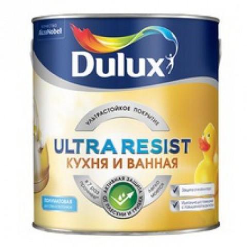 Dulux Кухня и Ванная ультрастойкая краска для влажных помещений