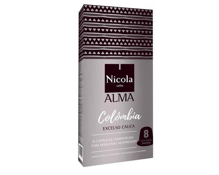 Кофе в капсулах Nicola Alma Colombia