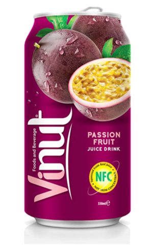 Сок маракуйи Vinut - Коробка 24х330 мл.
