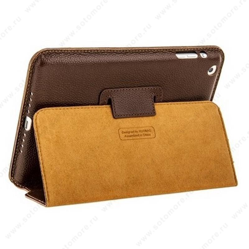 Чехол-книжка Yoobao для Apple iPad Mini 3/ 2/ 1 - - Yoobao Executive Leather Case Coffee