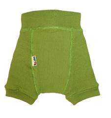 Пеленальные штанишки короткие Babyidea Wool Shorties, Зелёный (шерсть мериноса 100%)