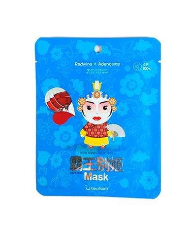 Маска тканевая с винным экстрактом BERRISOM Peking opera mask series QUEEN 25 мл
