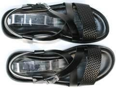Брендовые мужские сандали Roberto Verbano 74609 Black.