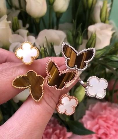 Кольцо на два пальца Lucky Alhambra