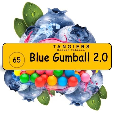 Табак Tangiers Blue Gumball 2.0 T65 (Танжирс Голубая Жвачка) |Noir 20г