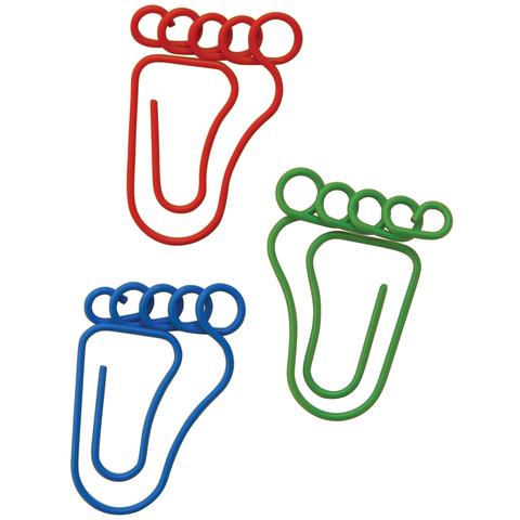 Скрепки Paper clips Feet