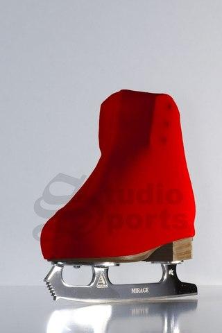 Термочехлы на ботинки (красные)