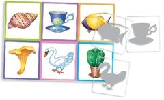 Настольная игра для малышей IQ лото Силуэты (комплект из 3 игр), Айрис Пресс