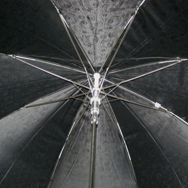 Зонт-трость Baldinini- 25- Jacquard nero