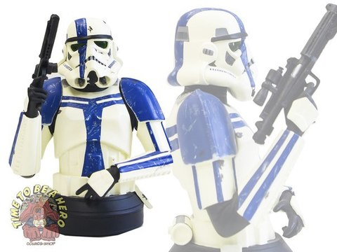 Star Wars Mini-Bust: Stormtrooper Commander Limited Edition