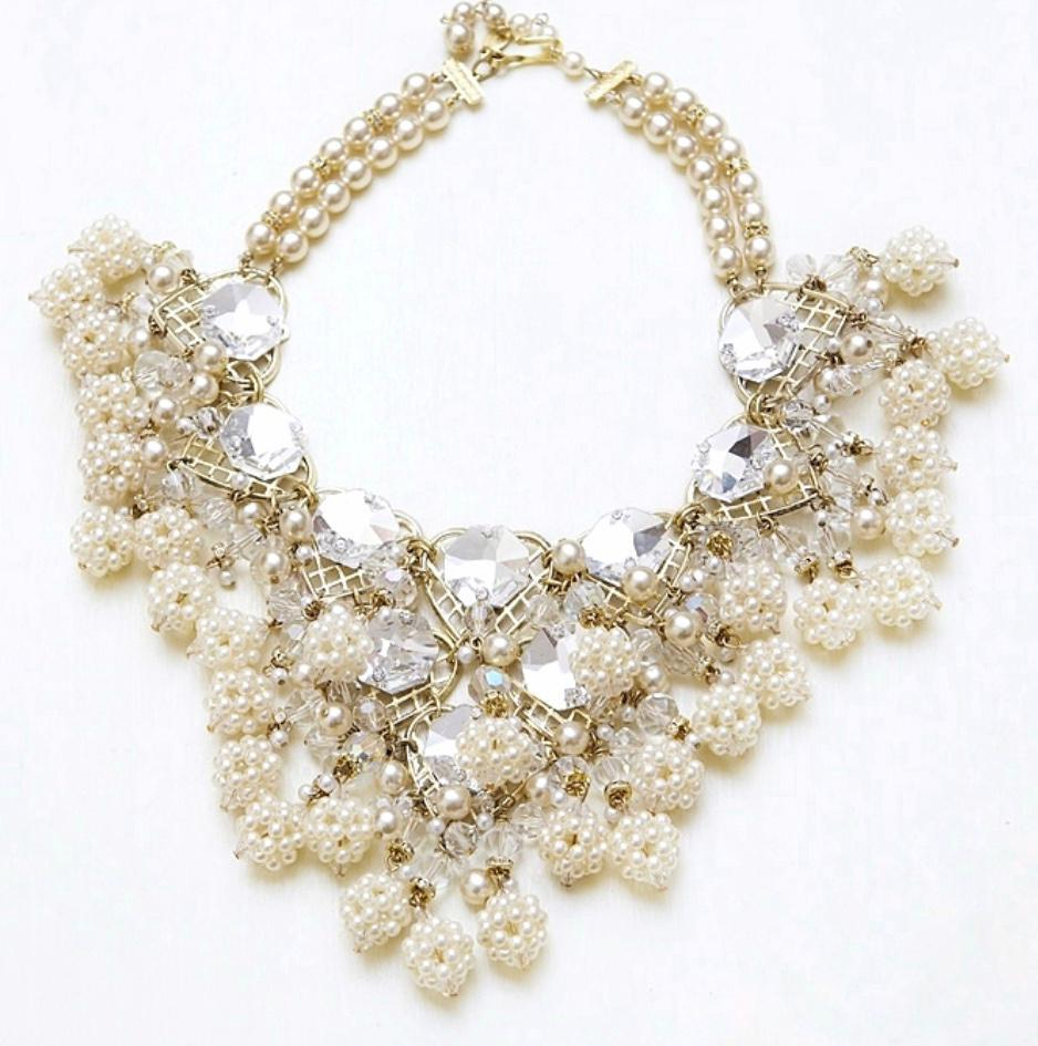 Luxury evening necklace by Lawrence Vrba
