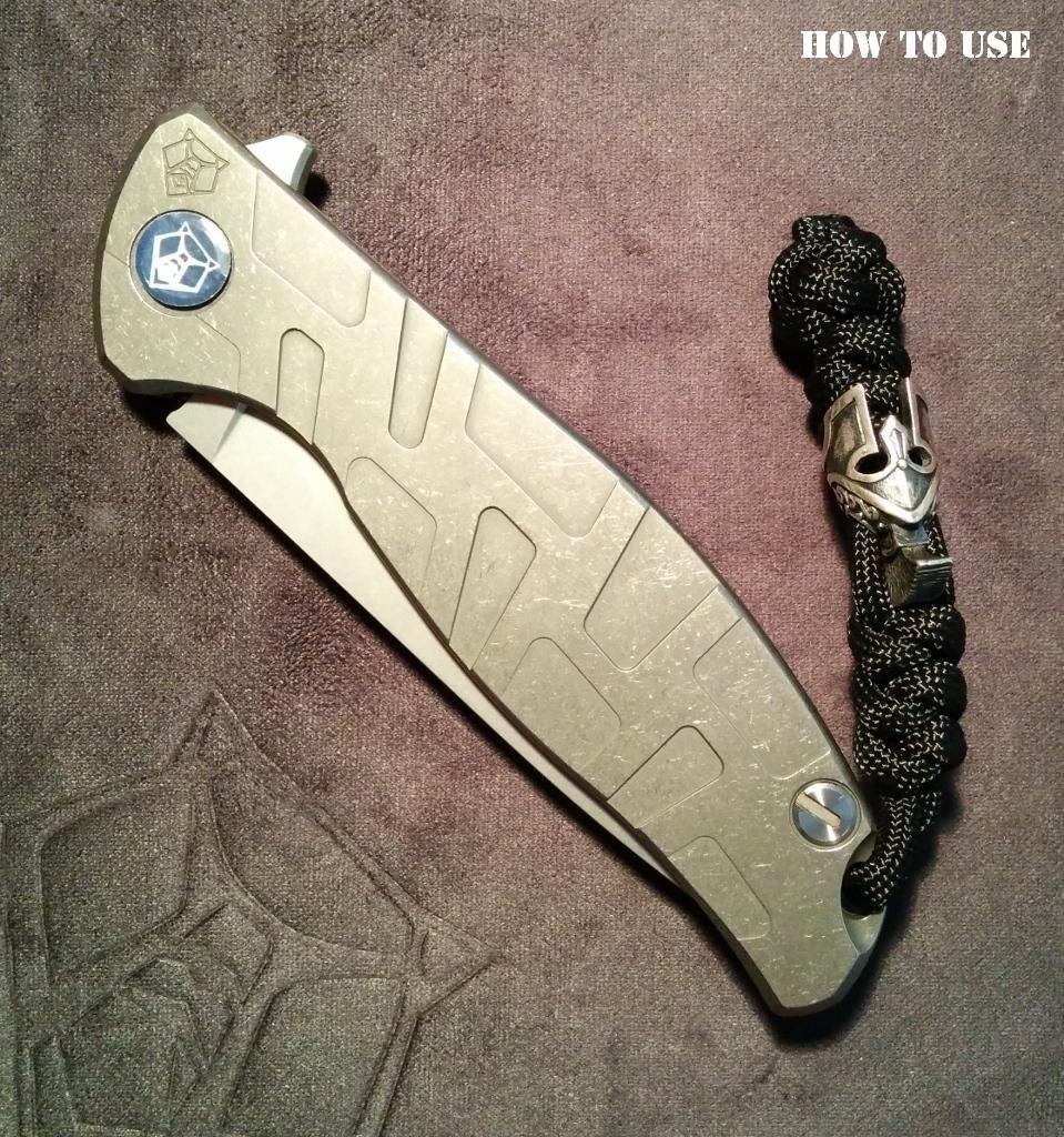 """Custom Sword Knot """"Corsair"""" Limited Edition"""