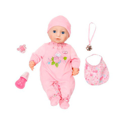 Zapf Creation Baby Annabell  Кукла-девочка многофункциональная, 43 см (794-821)