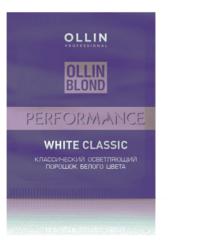 OLLIN BLOND PERFORMANCE White Classic Классический осветляющий порошок белого цвета 30г/ White Blond Powder